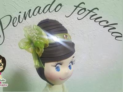COMO HACER PEINADO FOFUCHA PRIMERA COMUNION