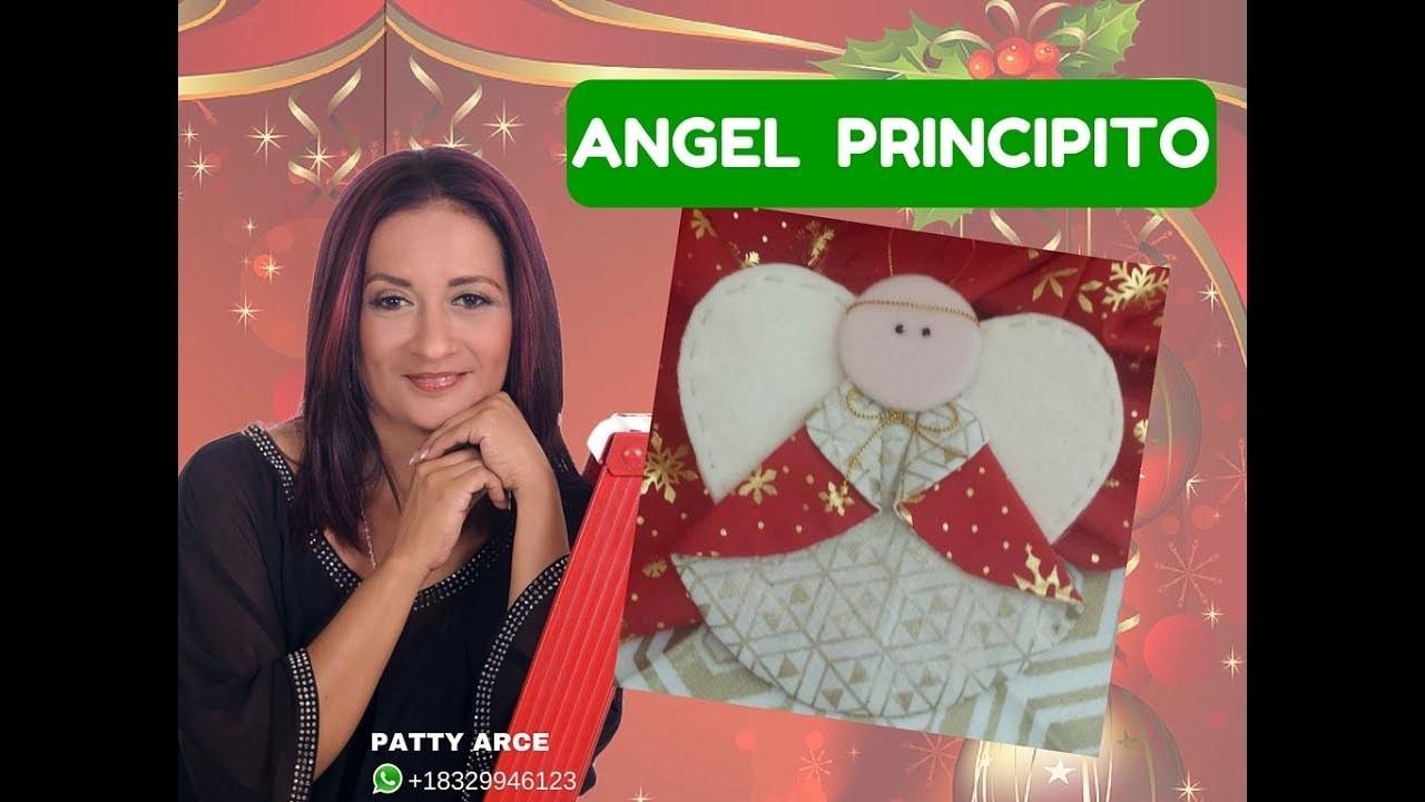 Como hacer un angelito para el arbol de navidad