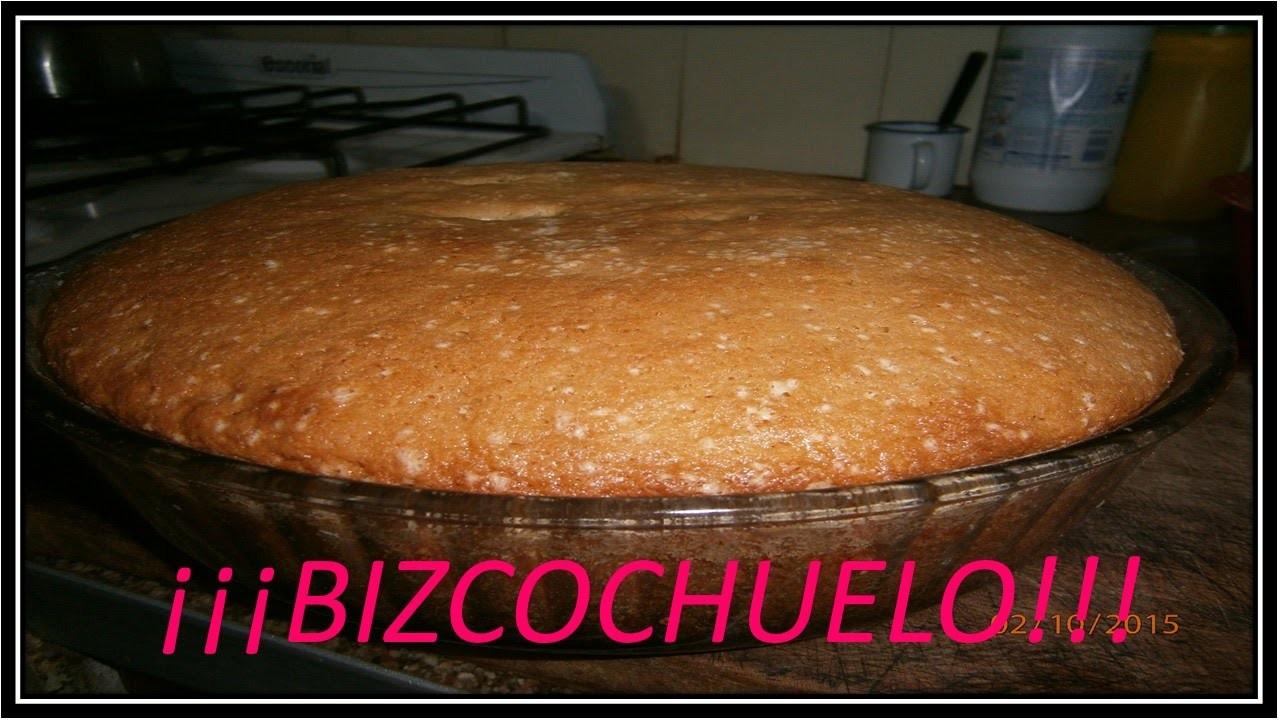 COMO HACER UN BIZCOCHUELO (FACIL Y RAPIDO).