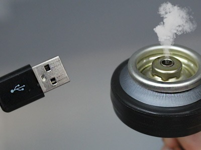 CÓMO HACER UN DIFUSOR USB DE ACEITE