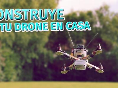 Cómo hacer un ➡ Drone multirotor hecho en casa