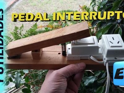 Como hacer un pedal interruptor de usos multiples