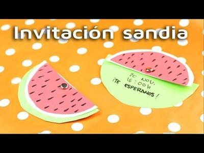 Cómo hacer una original invitación para tu fiesta | facilisimo.com
