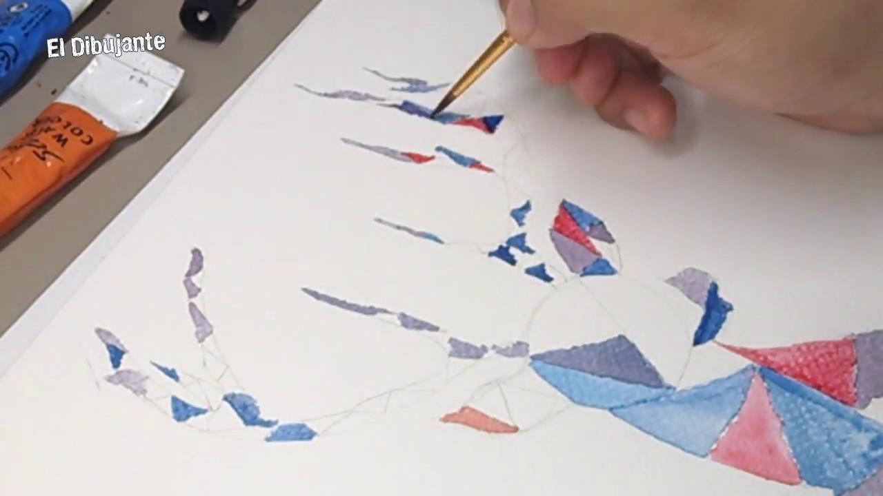 ???? COMO PINTAR UN RENO ciervo EN ACUARELA PASO A PASO | ???? HOW TO DRAW A DEER watercolors