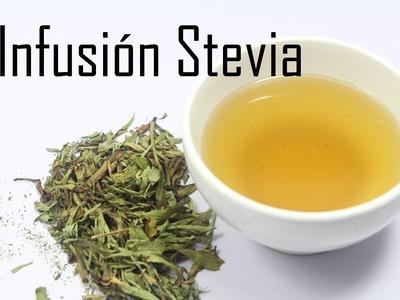 Como preparar infusión de stevia y algunos beneficios de tomar esta bebida para la salud