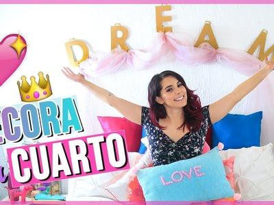 DIY DECORA TU CUARTO TUMBLR FÁCIL Y BARATO ♥ Jimena Aguilar