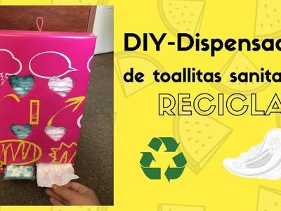 DIY lindo y fácil dispensador de toallitas higiénicas || Reciclaje