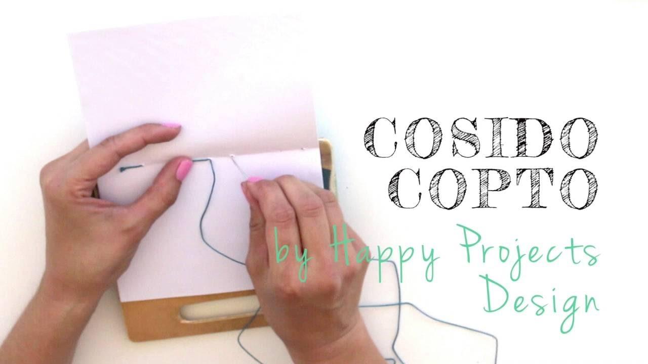 DIYclub - Cosido copto (técnica de encuadernación)