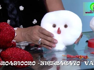 EL MUNDO MÁGICO DE ANABEL part 1(31 DE MAYO) Muñequeria muñecos de nieve