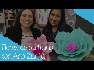 Flores de Cartulina con Ana Zurita - 26.17.17