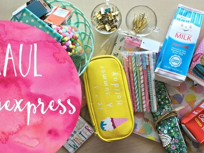 Haul Ali Express