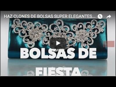 HAZ CLONES DE BOLSAS SUPER ELEGANTES CON CARTÓN. MaireWink