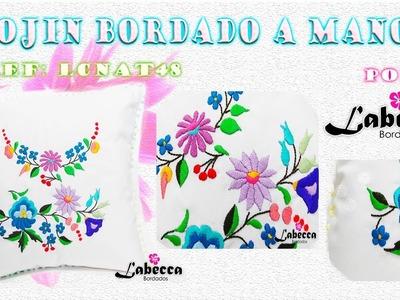 ????IDEAS de COJINES DECORATIVOS???? Bordados a Mano|BORDADO MEXICANO inspirado en Flores????HECHO A MANO