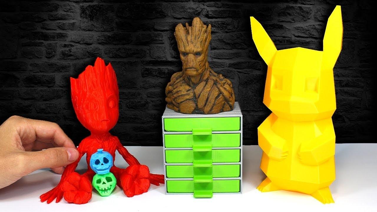 Impresora 3D | COSAS Que Puedes HACER | Inventos Caseros en 3D | Ultimaker 2+