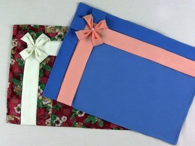 Individual de Uso Diario y Navidad - Capítulo 1 - Gráfico - Plantilla - Armado y Drapeado