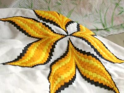 La estrella de hilbanes para almohada