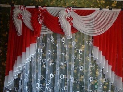 Lindas cortinas decoración de hogar♥♥