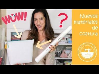 Materiales de costura para bolsos, neceseres.  Ikea hacks