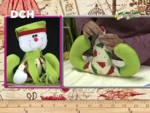 Muñeco de Nieve con bufanda, paso a paso - Yasna Pino - Casa Puchinni