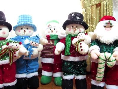 Muñecos Navideños Frisavil Nieve - Noel  Venta Navideña