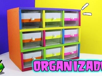 Organizador con cajas de Ferrero Rocher (Reciclaje) Ecobrisa