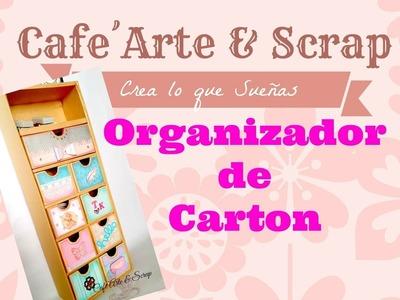 Organizador de Escritorio - Reto Cerecitas Arte y Scrap