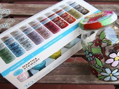 Pinturas acrílica multisuperficie para pintar cristal - Le petit papillon