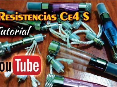 Reparación de resistencias CE4 S ( eGo T ) - Tutorial en Español