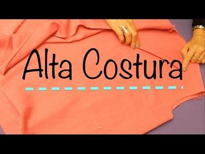 Alta Costura Clase 54, Pegar y Perfilar Vistas Blusa