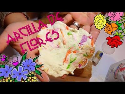 ARCILLA DE FLORES.MASA.PASTA FLEXIBLE.CURIOART