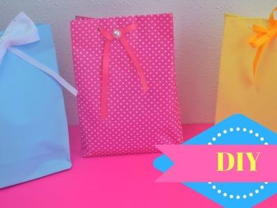 Bolsa de papel para regalos.????| Margari