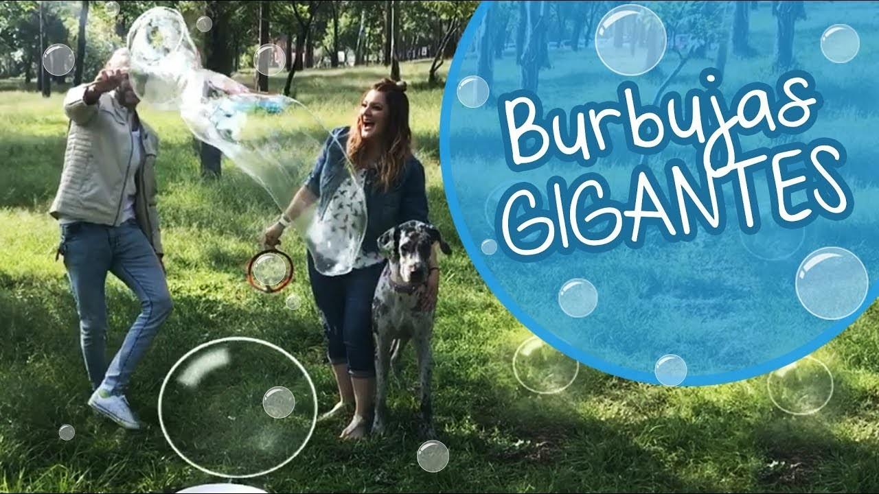 Burbujas Gigantes de Jabón :: Chuladas Creativas :: Bubble Jumbo Ball