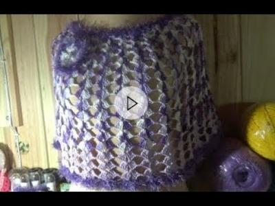 Capa y canesú para cualquier talla en crochet
