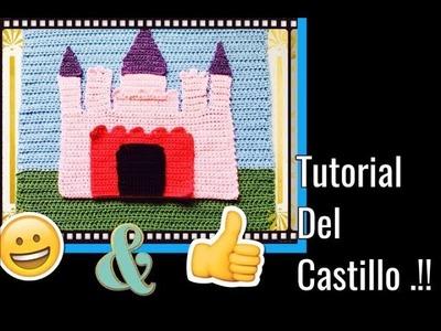 CASTILLO A GANCHILLO FACIL Y BONITO .!! Tejiendo Con Erica.!!