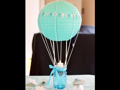 Centro de Mesa para Baby Shower | ideas y manualidades