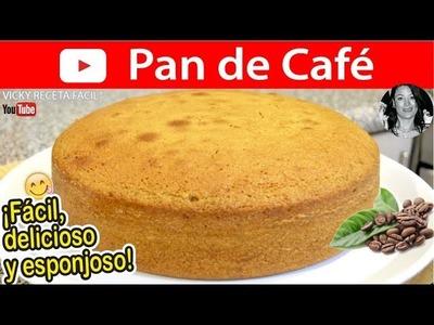 Cómo hacer PAN DE CAFÉ    Vicky Receta Facil