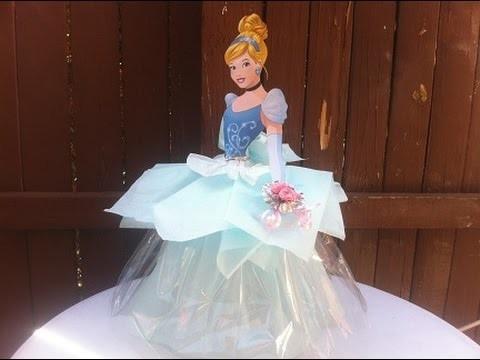 Como hacer centro de mesa de La Cenicienta (Cinderella) | ???? Casa Boutique ????