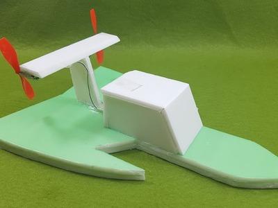 Cómo hacer el rc del aeroplano - diy rc barco