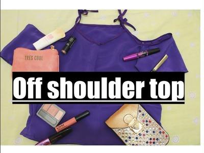 Cómo hacer una blusa sin hombros