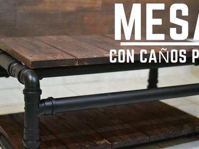 COMO HACER UNA MESA CON CAÑOS DE PVC | Empo | EP. 16