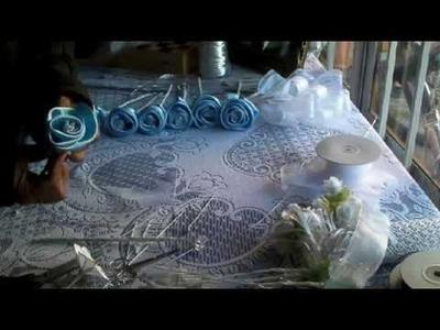 Como hacer una rosa en tela