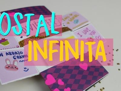 ¿Cómo hacer una tarjeta infinita? Carta mágica interminable para regalar o Never ending card