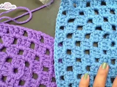 Cómo tejer cuadritos de 20 X 20 cm
