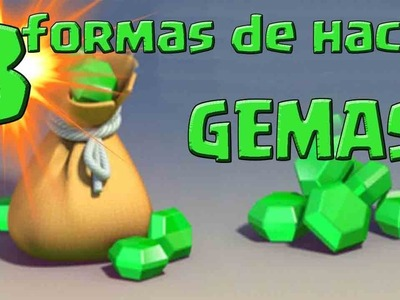 CREA TUS PROPIAS GEMAS DE CLASH ROYALE! Dcrafting