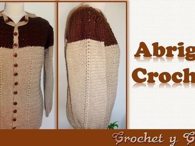 DIY Abrigo – cárdigan con punto espiga a crochet (1 de 3)
