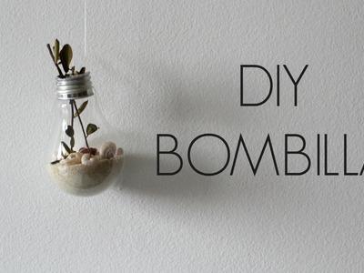 DIY  CON BOMBILLAS :)