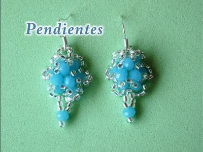 DIY - Pendientes turquesa -DIY - Turquoise Earrings
