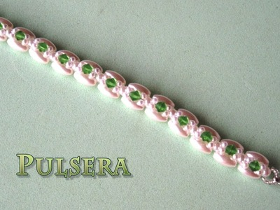 DIY - Pulsera de arroces, perlas y tupisDIY - Bracelet of rice, pearls and tupis