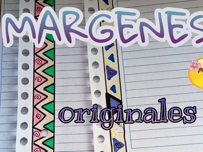 MARGENES BONITOS para cuadernos (especial regreso a clases)????✏