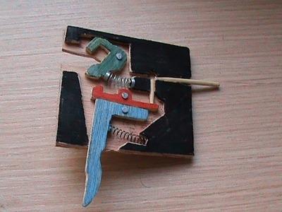 Mecanismo de disparo para ballesta de poleas (1)